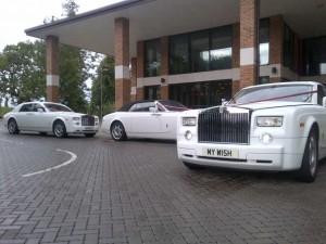 2 White Phantoms at the City Pavilion...